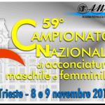 Trieste (7, 8, 9 novembre 2015): 59° Campionato Italiano di Acconciatura femminile e maschile…