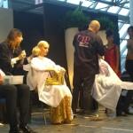 Altre foto tratte dall'HAIR SHOW collezione moda autunno/inverno 2015/2016 del GRP (Gruppo Ricerca Professionale) dell'Accademia Nazionale Acconciatori Misti (Anam) – tenuto a Carrara (Toscana) 4 ottobre 2015!