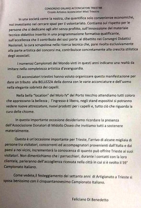 Comunciato Anam Trieste
