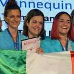 Campionati Europei di Acconciatura – Parigi 2016: DIANA DOCI (ANAM) – 3° Class. Medaglia di BRONZO prova individuale EVENING STYLE + Medaglia di Argento a Squadra!
