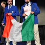 Campionati Europei di Acconciatura – Parigi 2016: SILVANO MARSIGLIESE (A.N.A.M.) e GIANLUCA CIARALLI (A.N.A.M.) – 5° Classificati prova a squadre EVENING STYLE!
