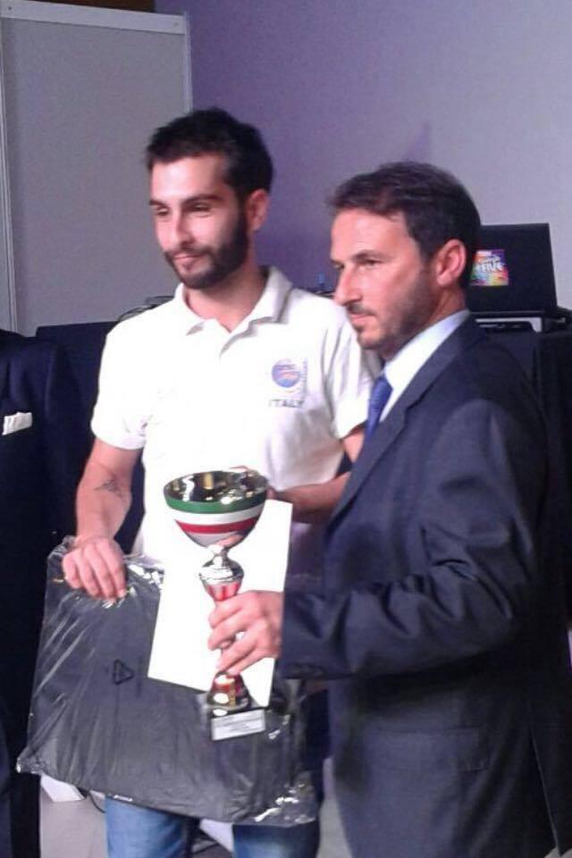 Francesco Marsico con il Presidente Nazionale Anam Alessandro Granai