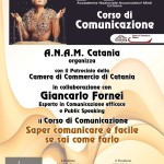 Il Centro ANAM Catania ospita il coach & formatore motivazionale Giancarlo Fornei: lunedì 3 luglio 2017 (Camera di Commercio di Catania)!