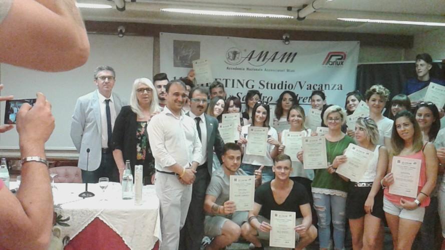 """11° meeting Studio/Vacanza Memorial """"Sandro Andretta"""" - Rimini - 11 e 12 giugno 2017 (Alcune foto allievi Accademie Anam)..."""