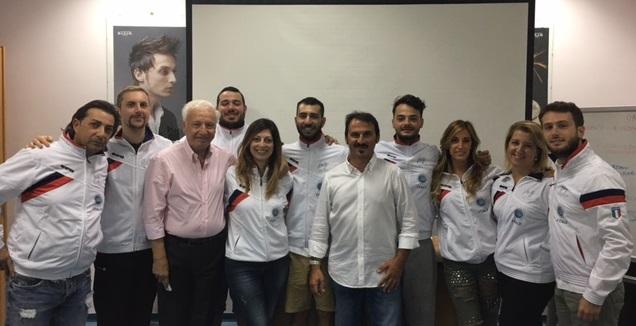 Gruppo Concorrenti Femminili con Trainer Sperotto