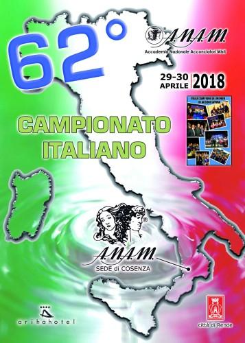 A.N.A.M. (Accademia Nazionale Acconciatori Misti): 62° Campionato Italiano (29 e 30 aprile 2018) - Rende (Cosenza)!
