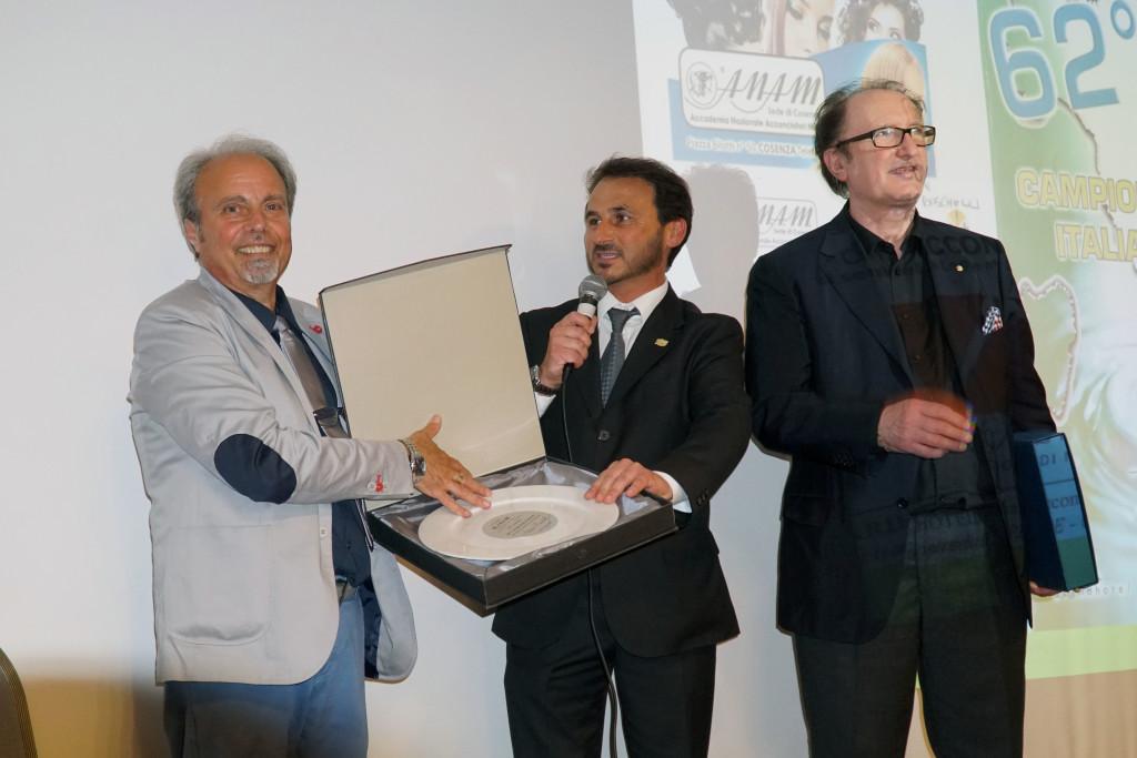 Alesandro Granai premia Boschelli